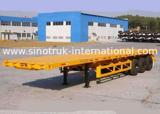 China SINOTRUK Semi Flatbed Trailers 30-60 Tons supplier