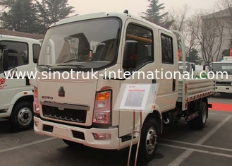 China SINOTRUK HOWO Light Duty Cargo Trucks 8 Ton supplier