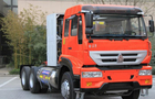 Compact Structure Tractor Trailer Truck 6X4 Euro2 290HP ZZ4251M3241W