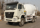 Drum Trailer Concrete Mixer 10CBM 290HP 6X4 RHD Pump Concrete Truck