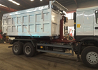 Hydraulic Control System Automated Garbage Collection Truck 6X4 LHD Euro2