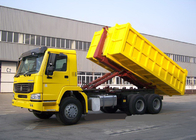 China Hydraulic Control System Automated Garbage Collection Truck 6X4 LHD Euro2 factory