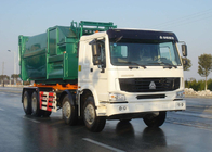 China High Efficiency Waste Collection Trucks / Garbage Dump Truck 18 - 20 Ton factory