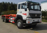 China Carriage Removable Garbage Collection Truck SINOTRUK 25CBM 6X4 LHD factory