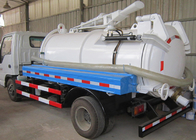5-6CBM LHD 4X2 Sewage Suction Truck , Combination Sewer Cleaning Truck