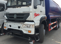 High Pressure Water Tank Truck With Pneumatic Control / Manual Control System