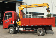 Mechanical Engineering Truck Mounted Mobile Crane / Truck Mounted Lifting Equipment