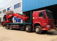 China Hydraulic Truck Mounted Crane 25 Tons XCMG , Hydraulic Knuckle Boom Crane factory