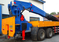 China 25-80 Tons Truck Mounted Crane 8X4 LHD , Truck Mounted Lifting Equipment factory