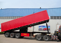 China High Efficiency 3X16 TONS Semi Tipper Trailer Dump Truck For Mining Industry factory