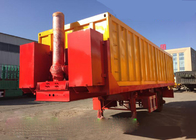 China SINOTRUCK HOWO Dumper Tipper Semi Trailer Truck 25-45CBM With BV Certification factory