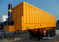 China Semi Trailer Tipper Truck 3 Axles 70Tons 25-45CBM for Mining / Construction factory