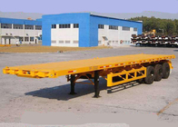 China SINOTRUK Semi Flatbed Trailers 30-60 Tons factory