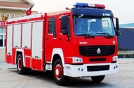 Mine Dust Fire Tender Vehicle / Modern Fire Trucks 15-20CBM LHD With ISO