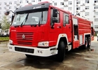 China SINOTRUK HOWO Modern Fire And Rescue Vehicles Sprinkling Truck Equipment company