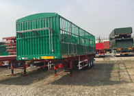 China Light Self - Weight Cargo Semi Trailer Truck Used In Logistic Industry factory
