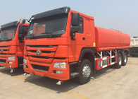 Internal Anti - Corrosion Construction Water Transport Trucks 18-25CBM