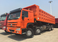 Good Quality Cargo Truck & Tipper Truck SINOTRUK HOWO 371HP 12 Wheels LHD 31tons 20-30CBM  ZZ3317N3567W on sale