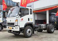 China Small Goods Transporting Light Duty Trucks Two Sits Single Berth With A / C factory