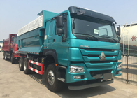 China Automatic 6X4 Heavy Dump Truck With Cover 5800 * 2300 * 1500mm High Efficiency factory