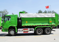 China Municipal Heavy Duty Tipper Dump Truck SINOTRUK HOWO LHD 336HP 10 Wheels factory