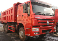 China SINOTRUK HOWO Tipper Dump Truck With Cabin 4 Point Full - Floating Air Suspension factory