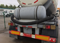 Particle Material Transport Semi Trailer Truck / Bulk Cement Tank Semi Trailer