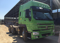 China Howo Tractor Trailer Truck LHD 10 Wheels HW 79 High Roof Cab Two Berths 102 km / h factory