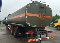 HOWO Stainless Steel 8X4 Petroleum Oil Storage Tank Fuel Delivery Truck 30 CBM