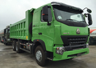 SINOTRUK HOWO A7 Tipper Dump Truck 25 - 30 Tons 10 Wheels RHD For Mining ZZ3257N3847N1