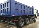 Ventral Lifting Commercial Dump Truck Sinotruk Howo 5400 * 2300 * 1500mm Cargo Body