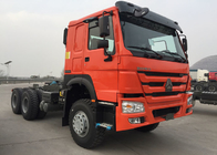 China Orange SINOTRUK HOWO Tow Tractor Truck RHD 10 Wheels 371 HP ZZ4257S3241W factory