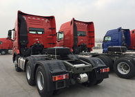 Tow Tractor Trailer Truck LHD 6x4 371HP Flat Roof Cabin SINOTRUK HOWO Truck