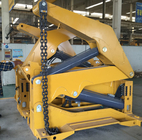 37 Tons Container Side Loader Truck Mounted Crane Euro 2 6 - 13m Length