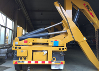 SGS Truck Mounted Cranes Equipment For 3 Axles Semi Trailer Lifting 40ft Container