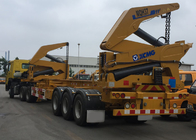 China Tri-Axle Side Lifter Container Side Loader Trailer For 20 Ft 40ft Container company