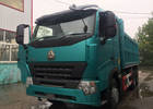 SINOTRUK HOWO A7 Tipper Dump Truck For Construction 30 - 40 Tons RHD 10 Wheels
