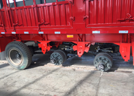 SINOTRUK Flat Bed Semi Trailer Truck For Transport Containers Bulk Cargo