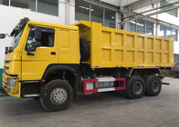 China Low Fuel Consumption Tipper Dump Truck For Mining Industry / Construction factory
