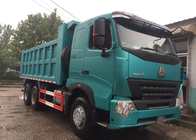 SINOTRUK HOWO A7 Construction Tipper Dump Truck 6 X 4 290HP In Blue Color