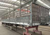 Carbon Steel Utility Semi Trailers 30-60 Tons For Special Goods Transportation