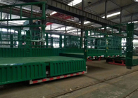 Transport Carbon Steel Flat Top Semi Trailer 30-60 Tons Semi Grain Trailer