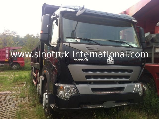 Tipper Dump Truck SINOTRUK HOWO A7 371HP for Construction ZZ3257N3847N1