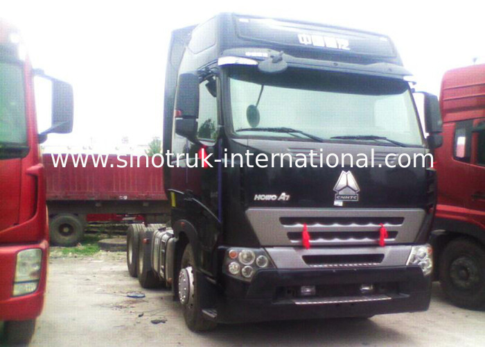 High Performance D12.38 / 380HP HOWO Tipper Tractor Truck Approved ISO