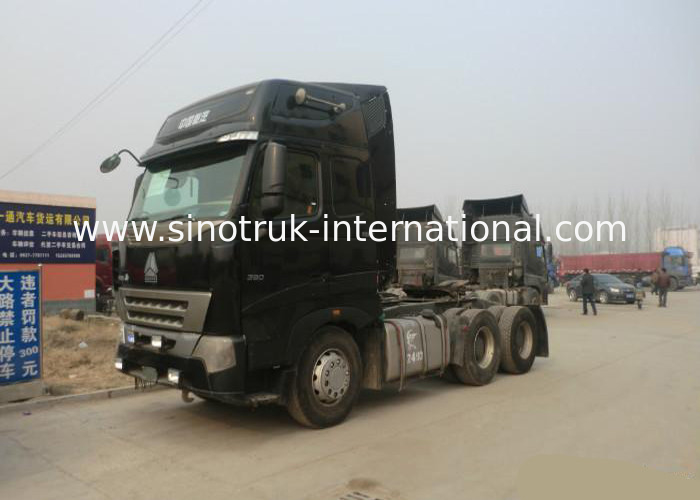 RHD 6X4 SINOTRUK HOWO 6x4 Dump Truck Tractor With Euro 2 Emission Standard