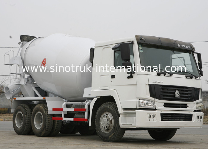 Large Concrete Mixer Truck With High Strength Wear - Resistant Steel Plate Tank