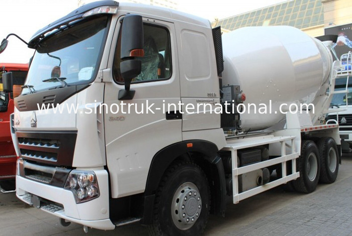 10CBM Concrete Mixer Truck For Construction Site / Concrete Mixer Drum Trailer