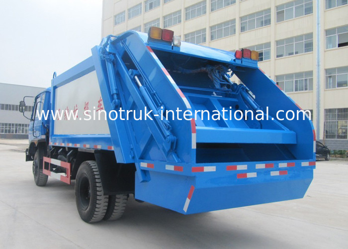Waste Collection Vehicle Commercial Waste Management Garbage Truck 5-6 CBM