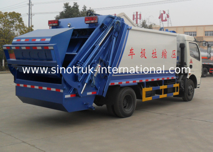 Compact Garbage Collection Truck 6cbm For Non - Toxic Waste Transportation