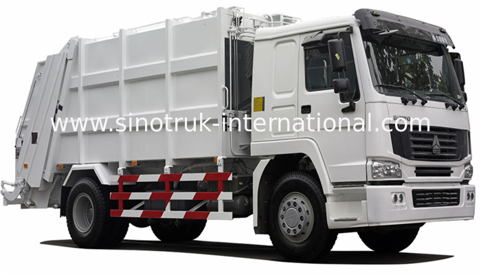 International Back Loader Garbage Truck / Compactor Garbage Collection Vehicles